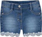 Ernsting's family Baby Jeans-Shorts mit Stickerei (Nur online)