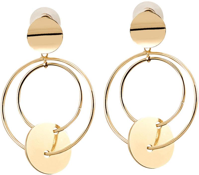 Damen Ohrringe in Gold-Optik (Nur online)