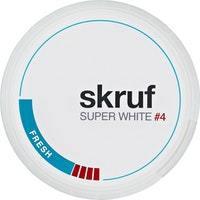 Skruf Snus Super White Fresh