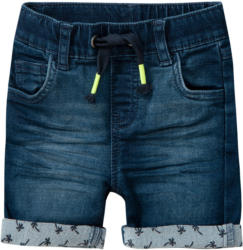 Baby Shorts mit Used-Waschung