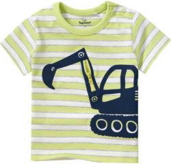 Baby T-Shirt mit Bagger-Motiv