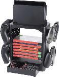 MediaMarkt SNAKEBYTE Gamestower für Switch - Aufbewahrung von  10 Spielen + Zubehör Nintendo Switch Gamesaufbewarung, Schwarz