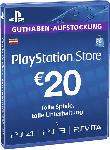 Saturn PlayStationStore Guthaben-Aufstockung 20 € [PS4, PS3, PS Vita PSN Code - österreichisches Konto]