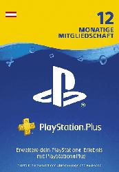 PlayStation Plus Mitgliedschaft 12 Monate - PS4 Download Code - österreichisches Konto