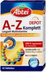 dm Abtei A-Z Komplett Langzeit-Multivitamine Tabletten