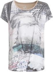 Damen T-Shirt mit großem Foto-Print