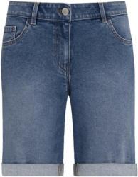 Damen Straight-Jeansshorts im 5-Pocket-Style