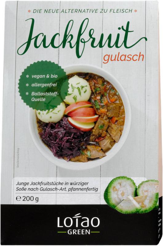 Lotao Green Jackfruit Gulasch