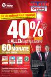 Wilken Opti-Wohnwelt | Optimal GmbH 40% in allen Abteilungen - bis 15.06.2020