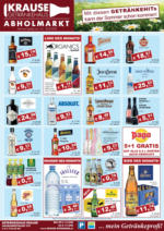 Getränkehaus Krause Flugblatt - Juni 2020