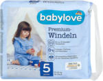 dm babylove Premium-Windeln Gr. 5 junior (12-25 kg)
