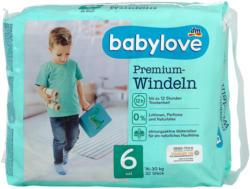 babylove Premium-Windeln Gr. 6 xxl (16-30 kg)