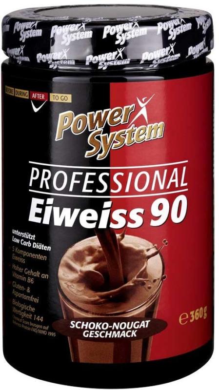 Power System Professional Eiweiss versch. Sorten, jede 360-g-Dose