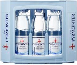 Bad Pyrmonter Mineralwasser versch. Sorten, 12 x 1 Liter, jeder Kasten
