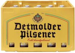 Detmolder Pilsener oder Thusnelda Bier versch. Sorten, 20 x 0,33 Liter, jeder Kasten