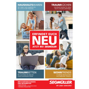 Segmüller - Erfindet euch neu Prospekt Parsdorf