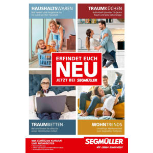 Segmüller - Erfindet euch neu Prospekt Nürnberg