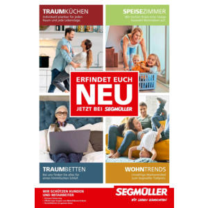 Segmüller - Erfindet euch neu Prospekt Mannheim