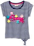 NKD Mädchen-T-Shirt mit Pompon-Verzierung - bis 06.06.2020