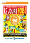 E. Leclerc 12 JOURS FOUS ! - au 14.06.2020