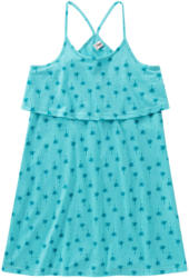Mädchen Kleid mit Palmen-Print (Nur online)
