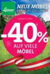 Leiner - Wels Leiner - Neue Möbel braucht das Land! - bis 07.06.2020