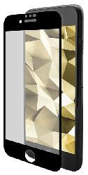 Displayschutzglas für iPhone 6/7/8, transparent/schwarz (IPG-5001-2.5D)
