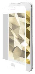 Displayschutzglas für iPhone 6/7/8, transparent/weiß (IPG-5002-2.5D)