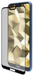 Displayschutzglas Huawei P20 Lite 2018, transparent/schwarz (IPG-5035-2.5D)