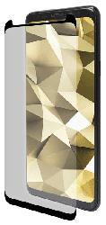 Displayschutzglas für Samsung Galaxy S8+, transparent/schwarz (IPG-5063-3D)