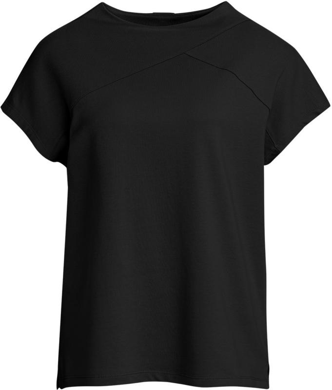 Damen T-Shirt mit hohem Halsausschnitt (Nur online)