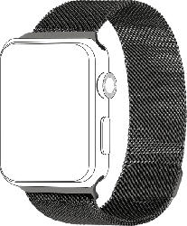 Armband für Apple Watch 38/40mm Mesh, Grau