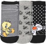 Ernsting's family 3 Paar Looney Tunes Sneaker-Socken im Set