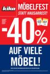 kika Möbel kika - Möbelfest statt Hausarrest! - bis 07.06.2020