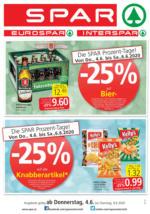 SPAR Flugblatt 04.06. bis 09.06. Vorarlberg