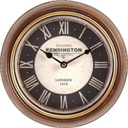 Uhr Milian in Braun ca.Ø24,5cm