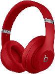Saturn Bluetooth Kopfhörer Studio3 Wireless mit Adaptive Noise-Cancelling (Pure ANC), rot