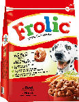 dm-drogerie markt Frolic Trockenfutter für Hunde, Adult, Rind