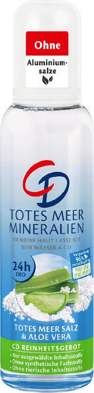 CD Deo Zerstäuber Deodorant Totes Meer Mineralien