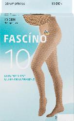 FASCÍNO Strumpfhose 10 den, champagner, Gr. 38/40