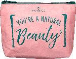 dm-drogerie markt essence cosmetics Kosmetiktasche natural beauty Make-up bag