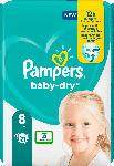 dm-drogerie markt Pampers Winden Baby Dry, Größe 8 Extra Large, 17+kg, Einzelpack