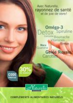 Offres Naturella - 30% de Rabais