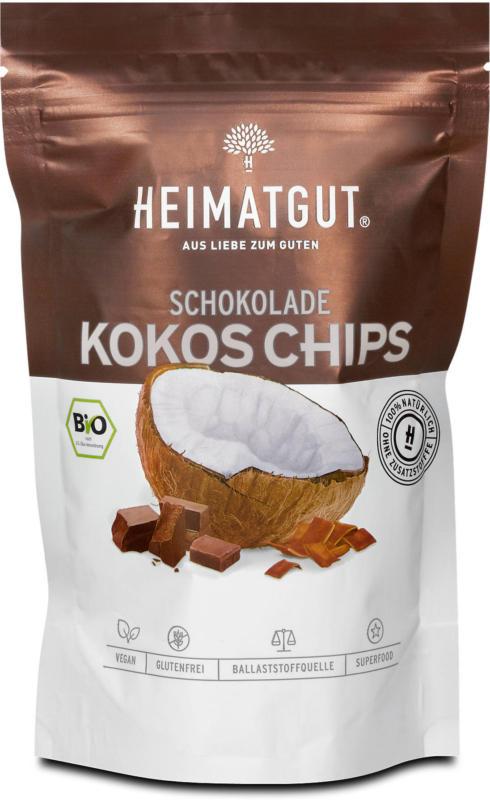 Heimatgut Bio Kokos Chips Schokolade