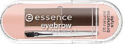 essence cosmetics Augenbrauenset stylist set natural brunette style 01