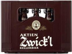 Bayreuther Aktien Original, Zwick`l oder Landbier 20 x 0,5 Liter, jeder Kasten