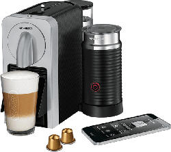 Nespresso Kaffeemaschine Prodigio & Milk EN 270 SAE Silber