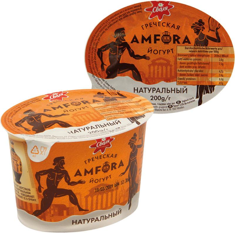 Joghurt nach griechischer Art, 3,9% Fett