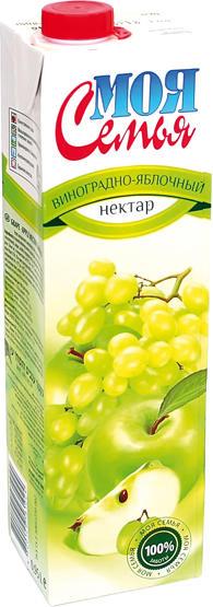 Trauben-Apfel-Fruchtgetränk aus Fruchtsaftkonzentraten