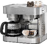 MediaMarkt ROMMELSBACHER EKS 3010 Espressomaschine, Kaffeemaschine Edelstahl